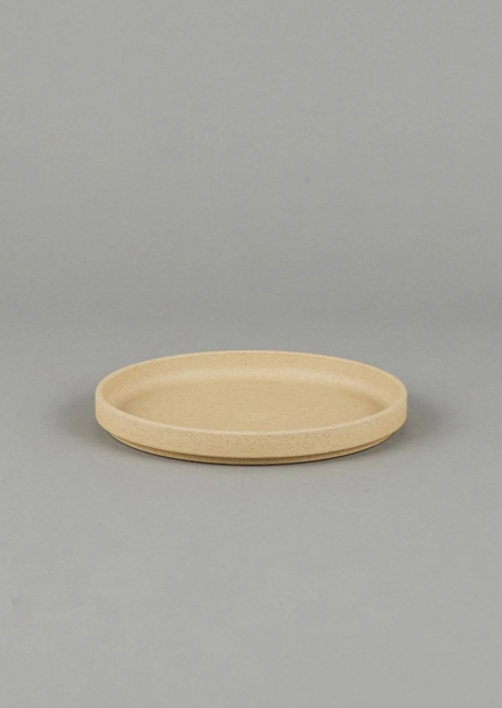 Hasami Porcelain - HP003 Natural Plate / Lid - 185 X 21. (Large)
