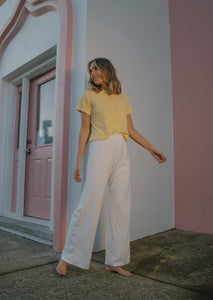 The Basic Tee - Lemon