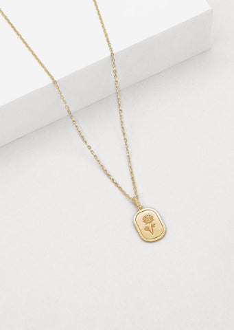 The Rose Necklace - Rose Gold Plated