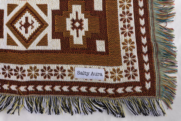 Salty Aura - The Saffron Rug