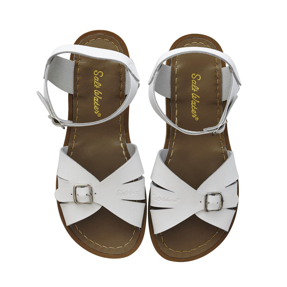 White SaltWater Sandal - Classic