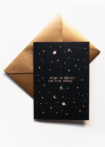 'You Are the Brightest Star' Greeting Card