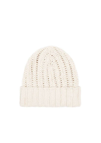 Spell - Heather Knit Beanie - Cream