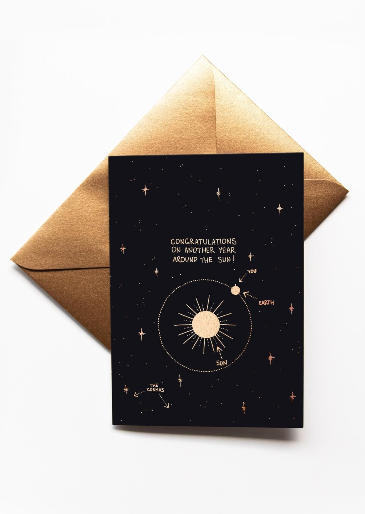 Dreamy Moons - 'Happy Birthday' Greeting Card
