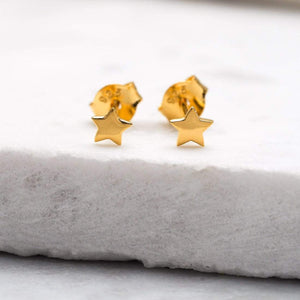 Astra Star Studs - Gold