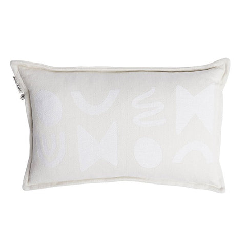 Lil Modern Light Cushion with Inner - Oats/Natural