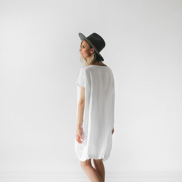 Short Dress - White - Scout Newcastle