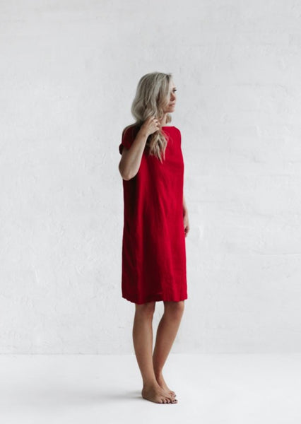 Short Dress - Red - Scout Newcastle