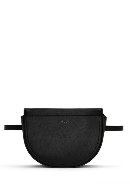 Abbot Vegan Belt Bag - Black - Scout Newcastle