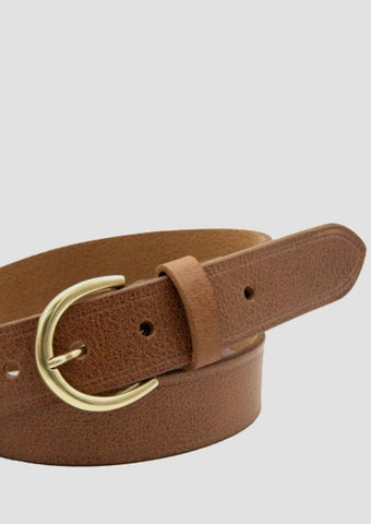 Brookline Belt - Tan