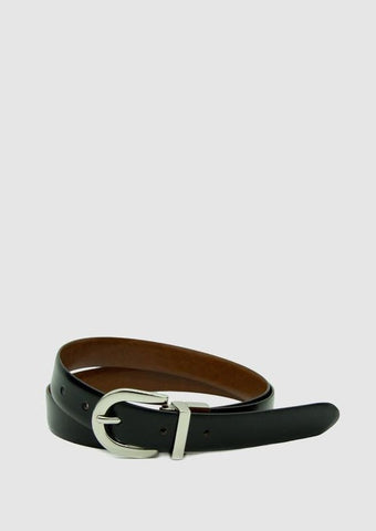Westwood Reversible Belt - Black / Tan