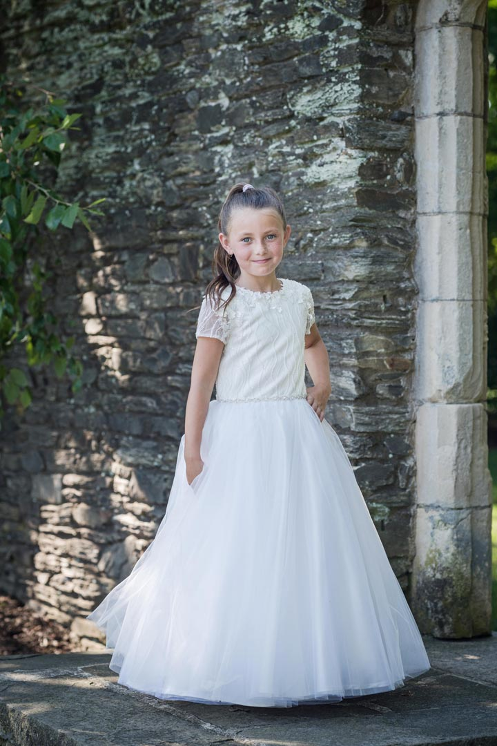 Macis Design 1st Communion Dress MT1850 - Nenes Lullaby Boutique Inc
