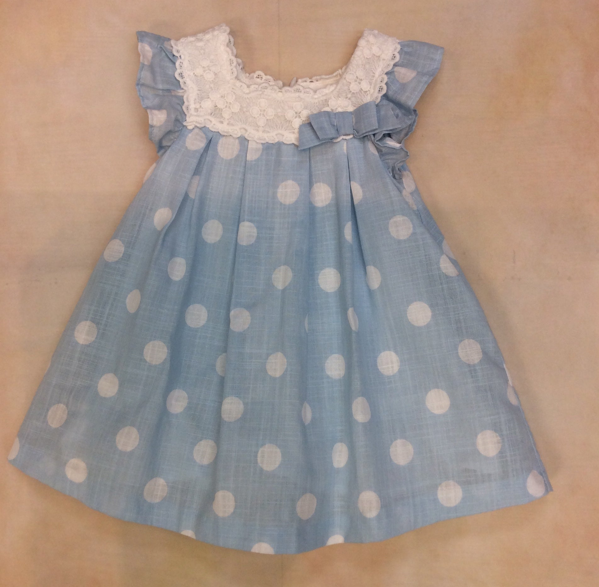 Polka Dot Dress 1871 - Nenes Lullaby Boutique Inc