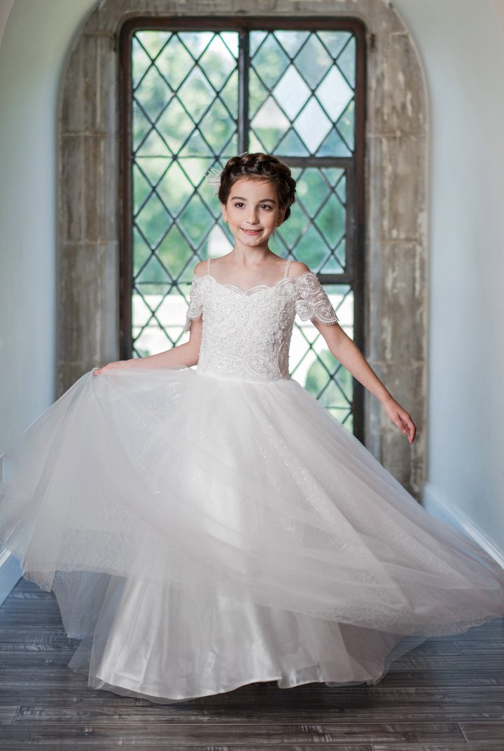 Communion Flower Girl Dresses