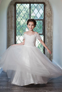 Macis Design 1st Communion Dress MT1920 - Nenes Lullaby Boutique Inc