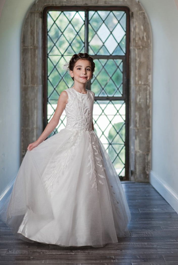 Macis Design 1st Communion Dress MD1934 - Nenes Lullaby Boutique Inc