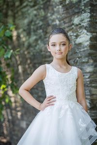 Macis Design 1st Communion Dress MT1950 - Nenes Lullaby Boutique Inc