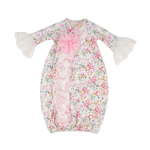 Haute Baby Pinalicious Baby Gown & Cap XPL02_01