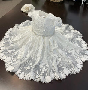 B120 Teter Warm Baptism & Christening Gowns - Nenes Lullaby Boutique Inc