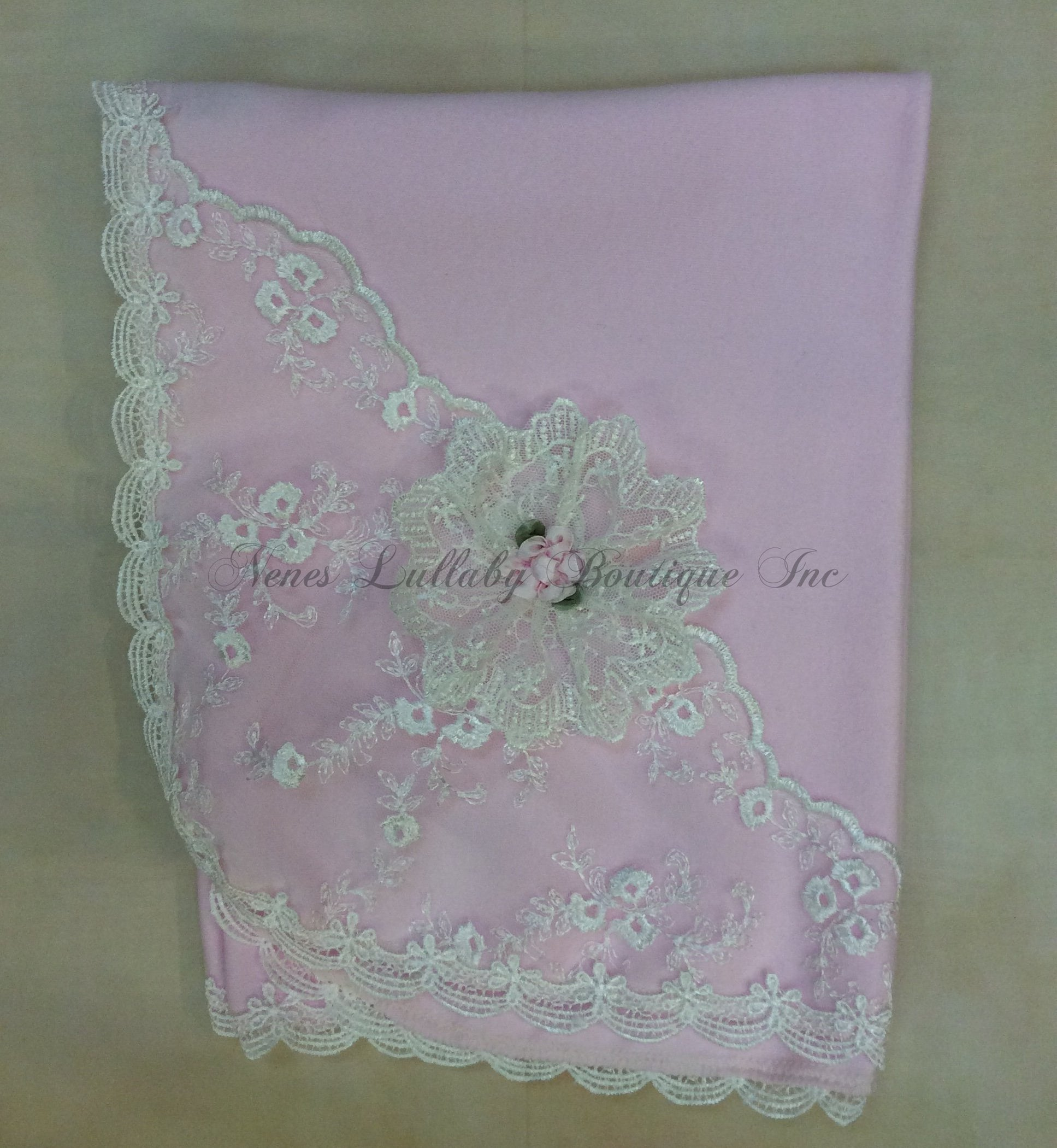 Katie Rose Pink Breanna Blanket - Nenes Lullaby Boutique Inc