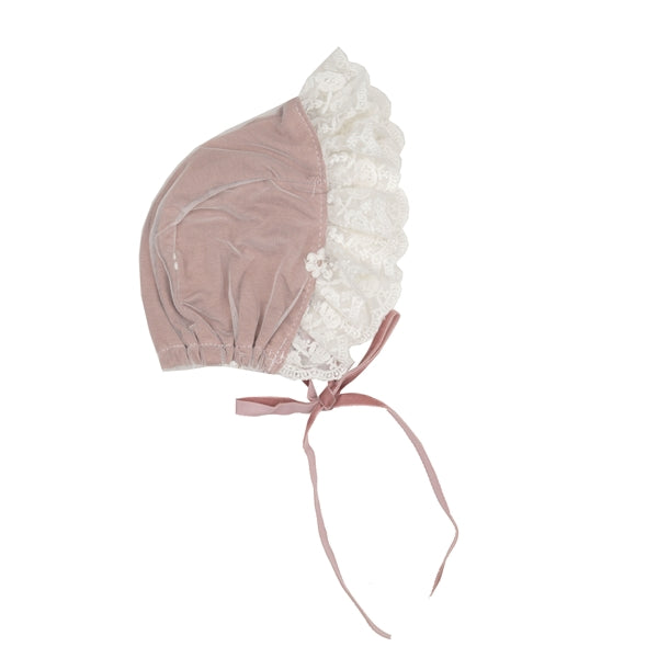 FMA02 Margarette baby layette Bonnet by Haute Baby & Frilly Frocks