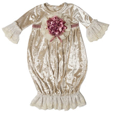 Load image into Gallery viewer, FVA01 Vamessa Baby Girl Layette Gown by Haute Baby