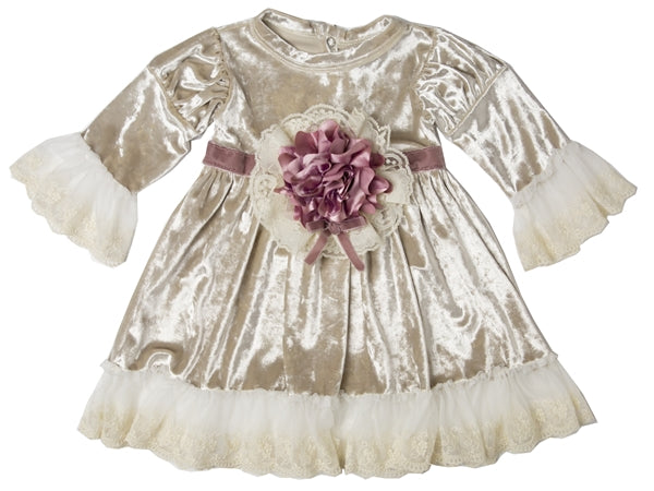 FVA05 Vanessa Baby & Toddler Girl Dress by Haute Baby - Nenes Lullaby Boutique Inc