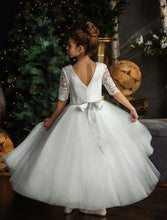 Load image into Gallery viewer, G05 Teter Warm Girls Off White Communion Dress - Nenes Lullaby Boutique Inc