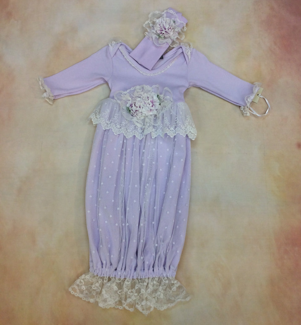 Gwen Day Gown by Nick & Nellie - Nenes Lullaby Boutique Inc