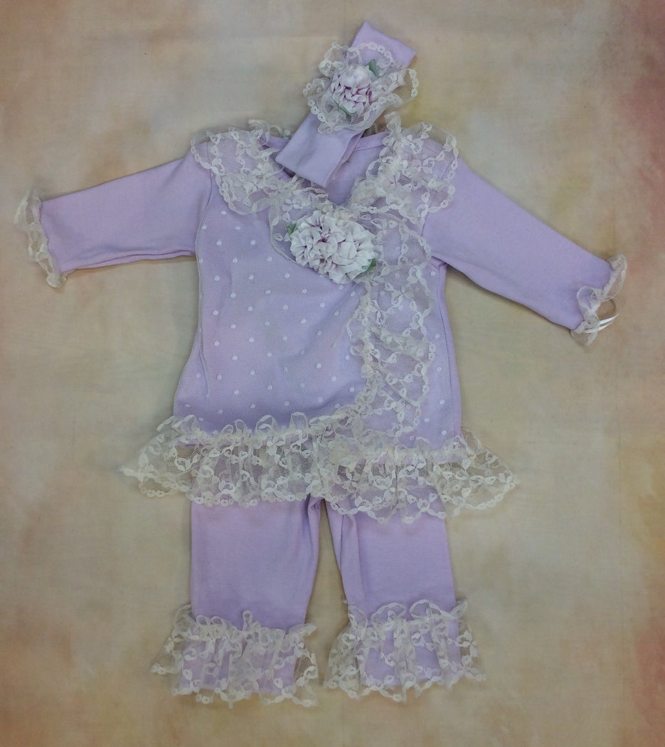 Gwen layette set by Nick & Nellie - Nenes Lullaby Boutique Inc
