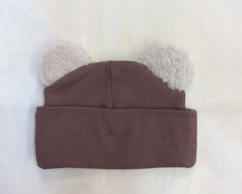 HB_JBW03 Baby Boy Bear Hat - Nenes Lullaby Boutique Inc