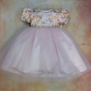 Kaylee Girls Special Occasion / Party Dress by Piccolo Bacio - Nenes Lullaby Boutique Inc
