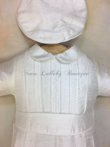 Little Prince Silk Christening outfit by Piccolo Bacio PB_Little_Prince_sk__ls_lp