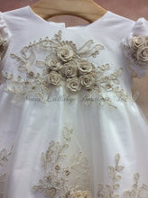 Load image into Gallery viewer, MDCH258IG_Long Christening Dress - Nenes Lullaby Boutique Inc