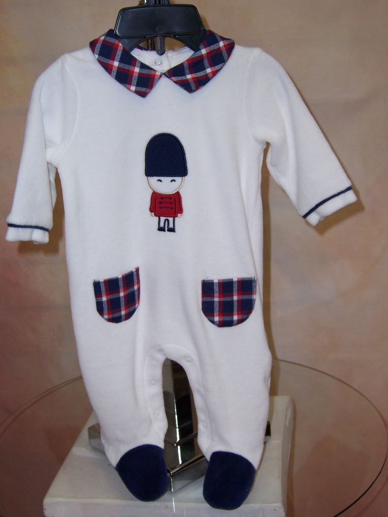 ML2723 Holiday baby boys layette outfit