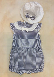 Baby Girl One Piece Romper set & hat MY1671 - Nenes Lullaby Boutique Inc