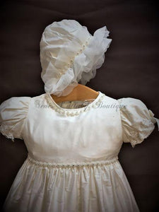 Piccolo Bacio Girls Christening gown Fiona - Nenes Lullaby Boutique Inc