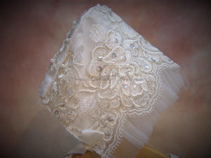 Henna Christening gowns by Piccolo Bacio