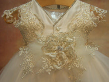 Load image into Gallery viewer, Magdalena Christening Gown by Piccolo Bacio - Nenes Lullaby Boutique Inc