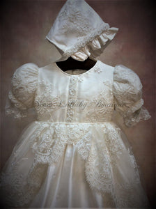Piccolo Bacio Girls Christening Gown Marcela
