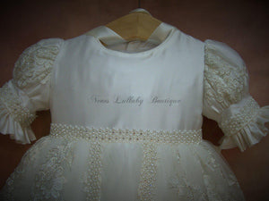 Martina Christening Gown by Piccolo Bacio