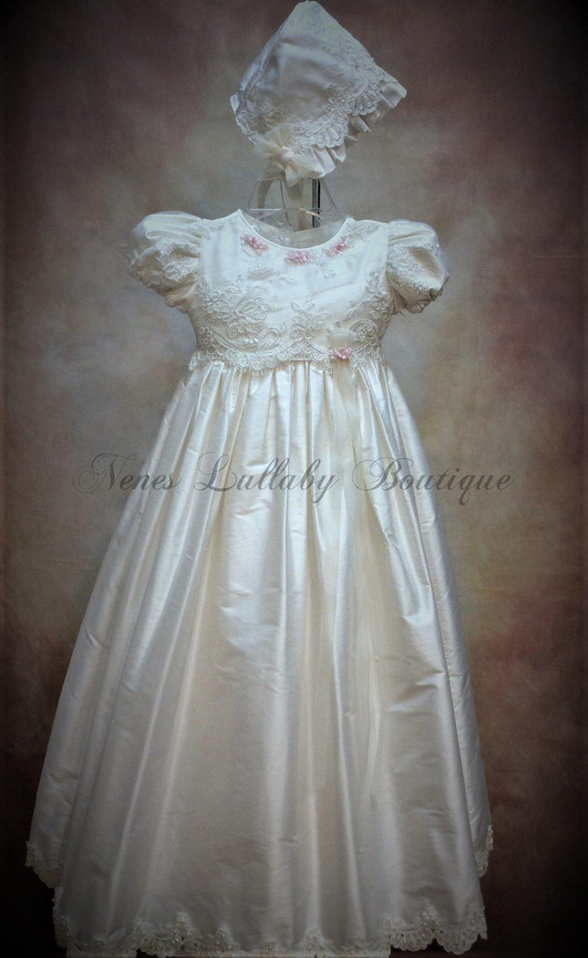 Piccolo Bacio Girls Christening gown Pierina