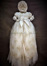 Load image into Gallery viewer, Piccolo Bacio Girls Christening Gown Sabrina - Nenes Lullaby Boutique Inc