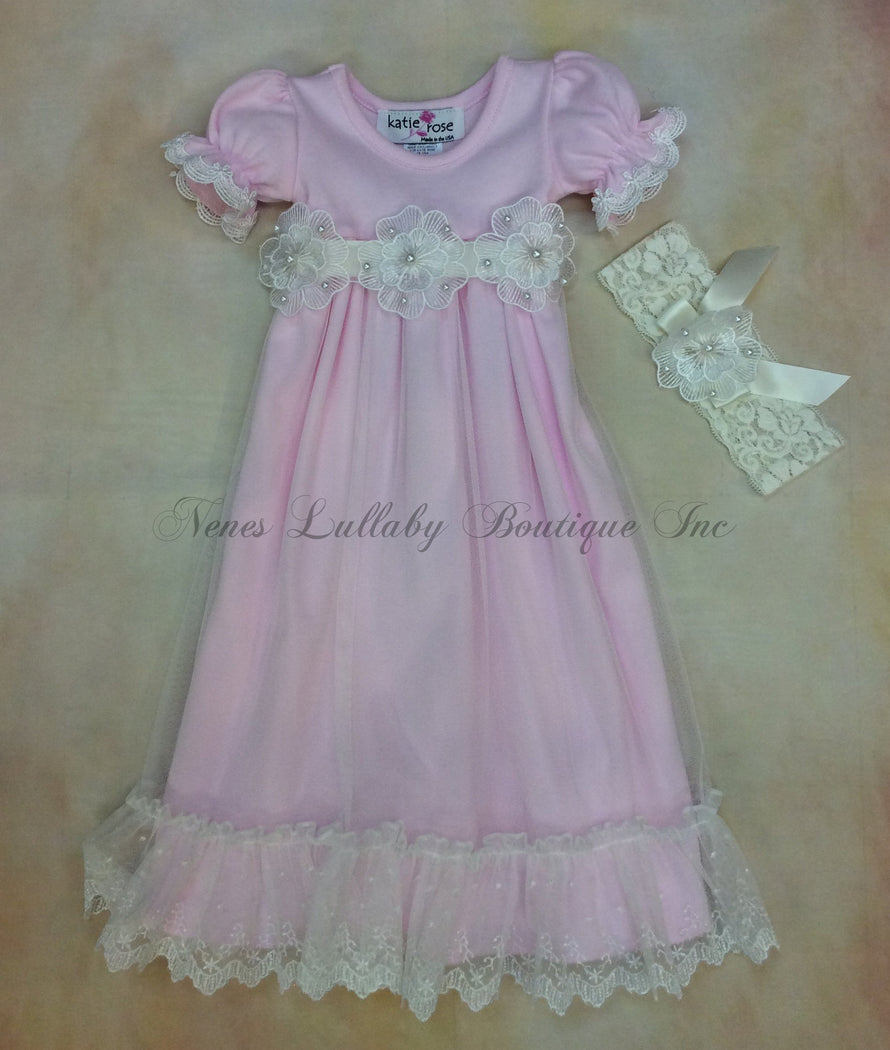 Katie Rose Piper Day Gown - Nenes Lullaby Boutique Inc