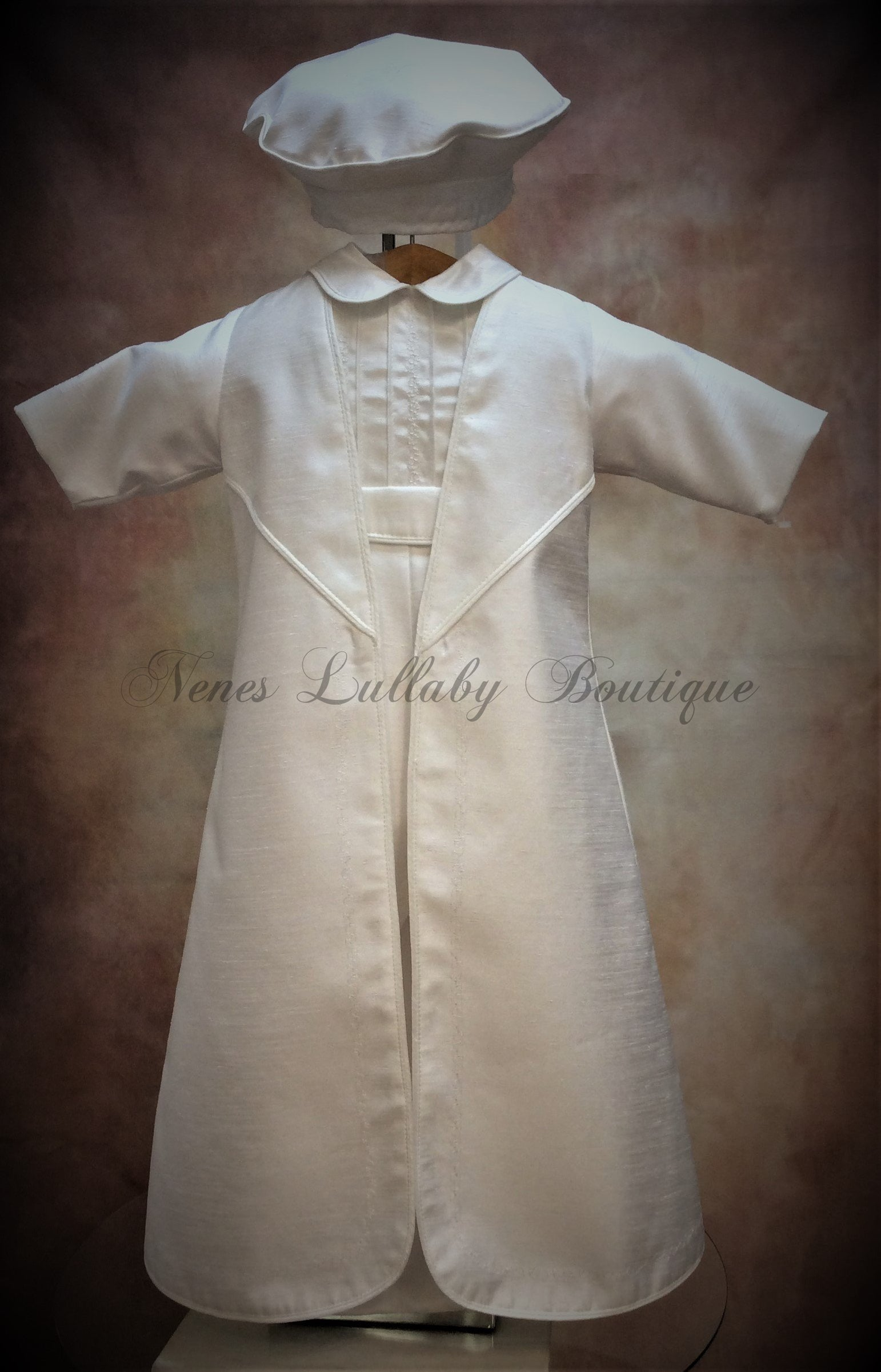 Prince Andrew Shantung Boys Christening Suit by Piccolo Bacio PB_Prince_Andrew_Sh_lp