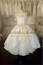 Load image into Gallery viewer, Piccolo Bacio Regina Girls Couture Communion Dress - Nenes Lullaby Boutique Inc