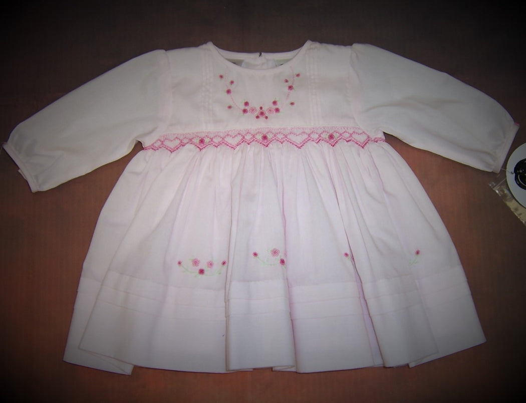 Sarah Louise Smocked Dress SL010484
