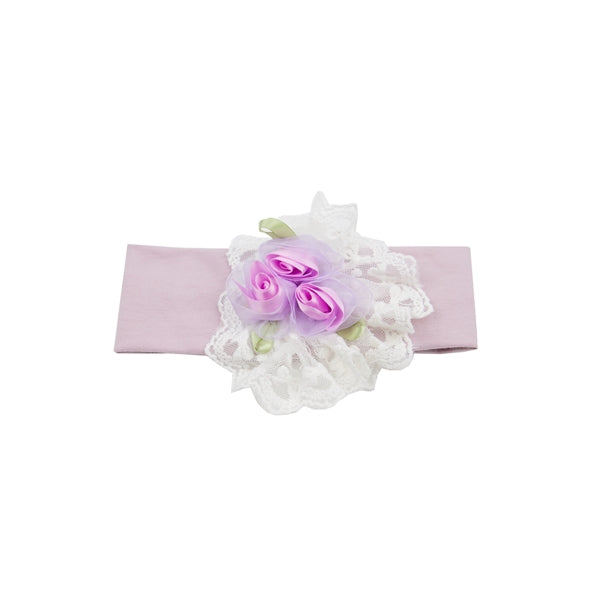 HB_SLM10 Lilac mist headband by Haute Baby