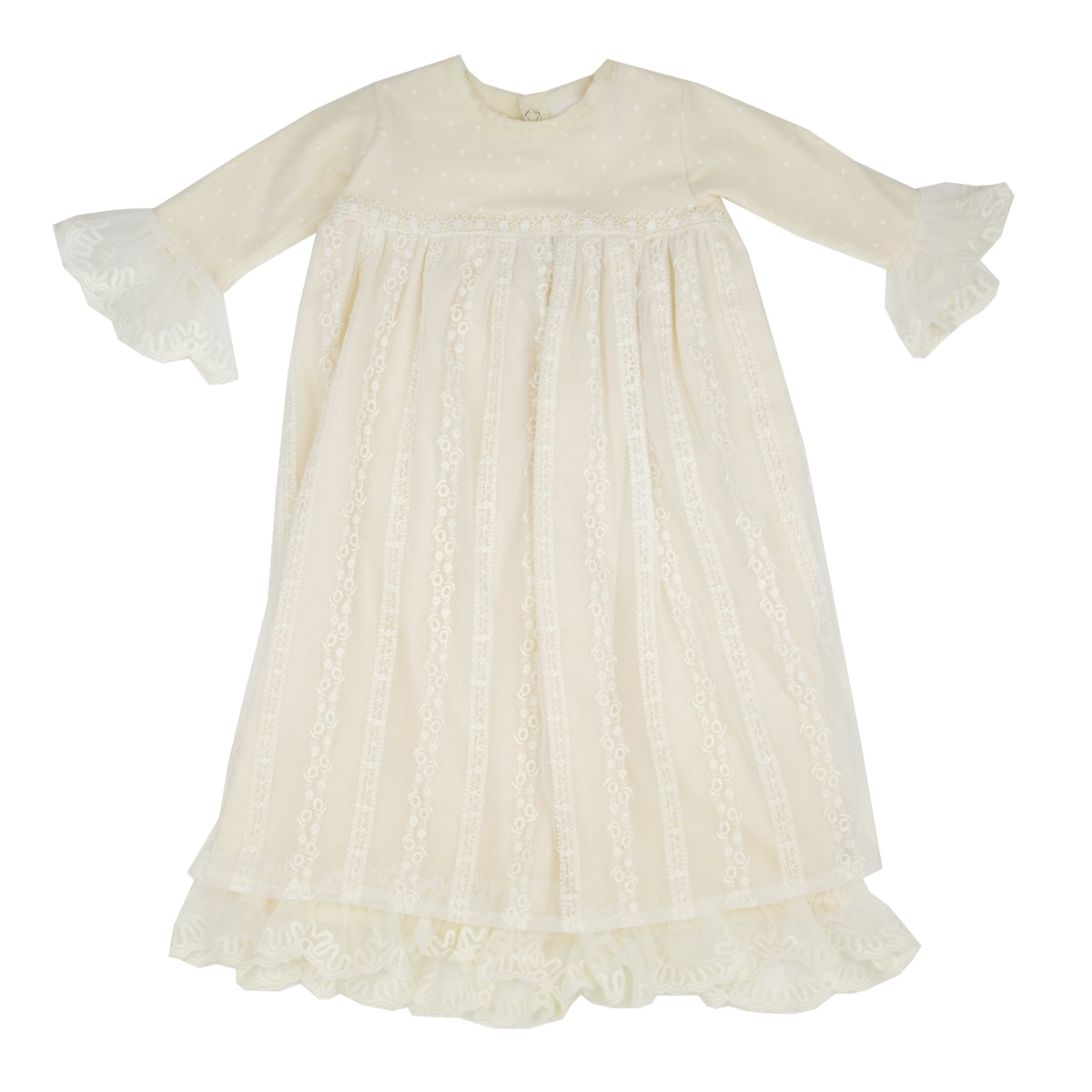 Mary Catherine Baby Layette Gown by Haute Baby HB_SMC01