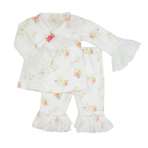 Tiny Petals Criss Cross Set HB_STP04 - Nenes Lullaby Boutique Inc